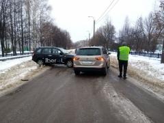 ДТП на улице Чехова 05.02.2021 г. Стерлитамак (1)
