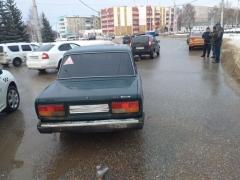ДТП с участием ВАЗ 2107 и Лада Калина (1)
