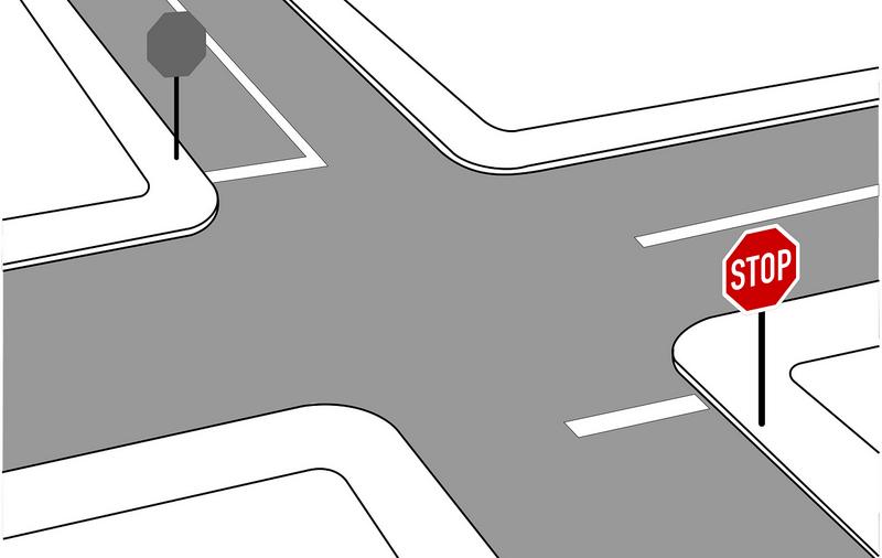 Как вести себя, если на перекрестке наехал на стоп-линию