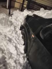 Сход снега с крыши 04.02.2021 года (4)